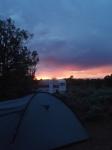 Sonne geht - Gewitter kommt