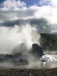 Grotto Geysir kotzt sich aus