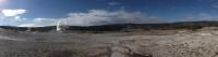 Old Faithful Panorama