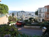 Lombard Street von oben