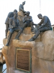 Steinbeck Denkmal