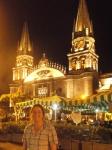 Kathedrale am Abend