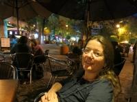 Abends im Studentenviertel