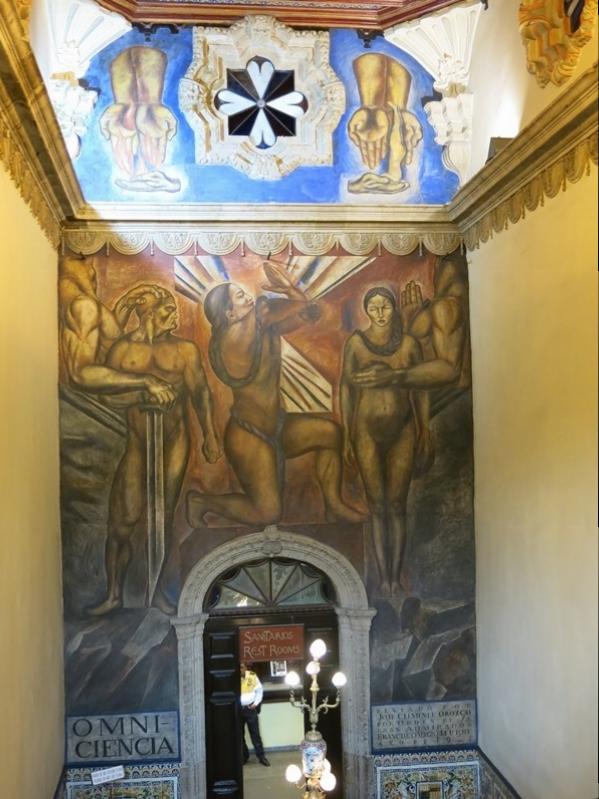 Ein Orozco im Azulejos-Haus