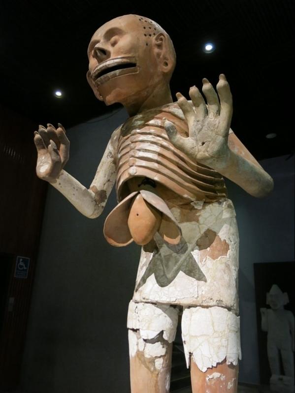 Der Totengott zeigt Innereien