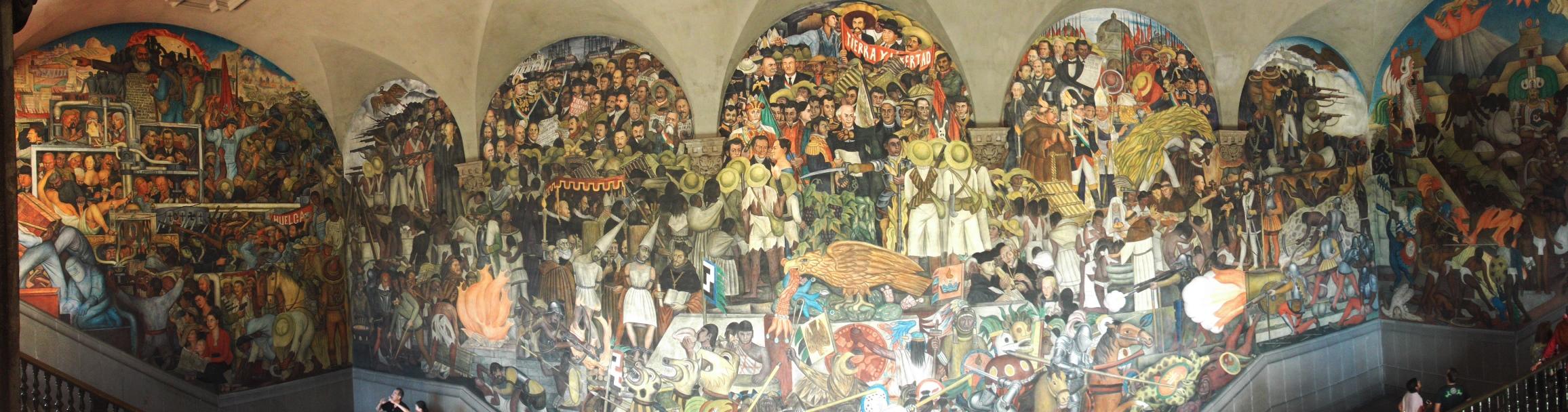 Diego Riveras Mexiko-Geschichte