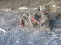 Opferstein im Templo Mayor