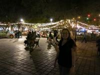 Abends auf dem Zocalo