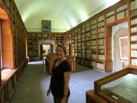 In der Klosterbibliothek