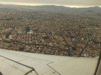 Anflug Mexiko-Stadt