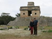 Dzibilchaltun-Templo de los munecas