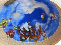 Venados_Leuchter unter Kuppel