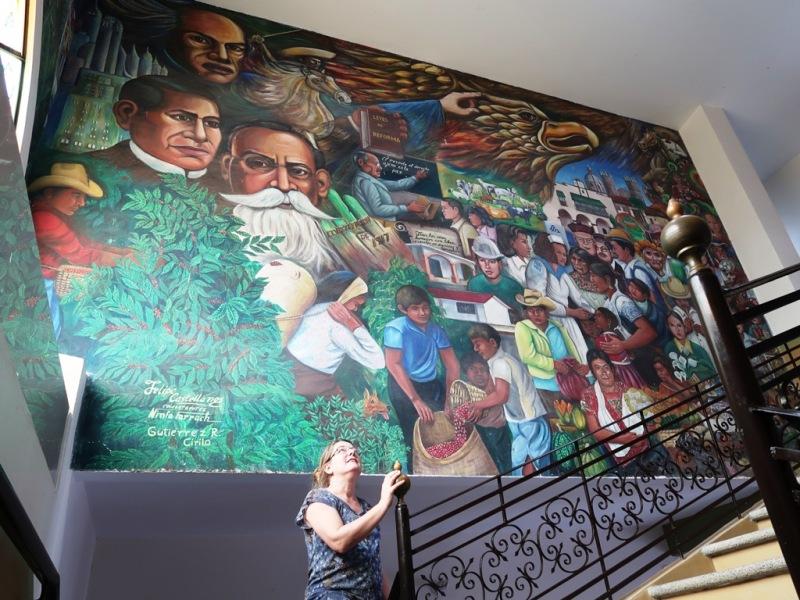 Murales im Palacio Municipal