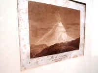 Pico-de-Orizaba-Illustration von Alexander von Humboldt