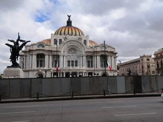 2_Palacio Bellas Artes gesperrt