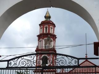 6_Erdbebenschaden an der Kirche von Amecameca aus dem 16. Jahrhundert