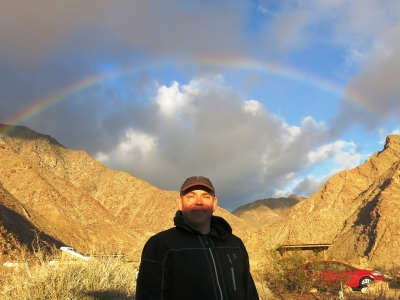 Anza-Borrego und under the rainbow