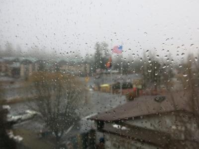 Am Anfang war der Regen