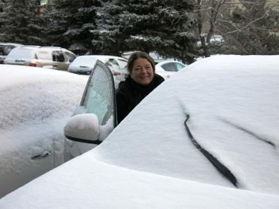 Dann kam der Schnee