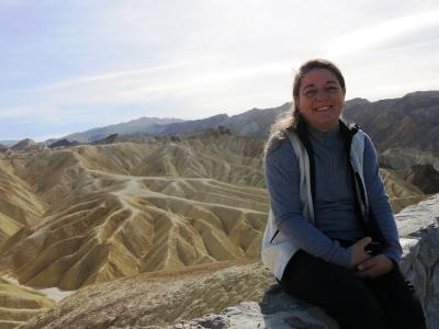 Death Valley - Zabriskie Point Anne