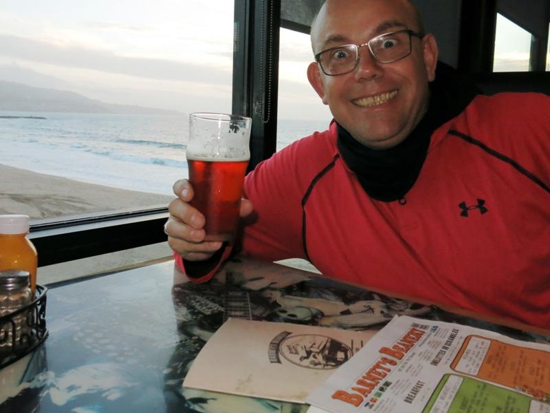 Beachbar mit passendem Bier gefunden