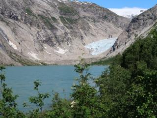 3_Nigardsbreen-Gletscher aus der Ferne