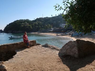 Sicht auf Playa Panteon