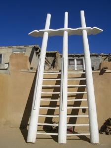 Leiter zur Kiva