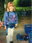 Lisa kletterte schon 1996 gerne