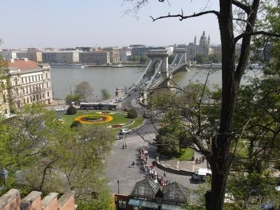 Blick auf die Kettenbrücke