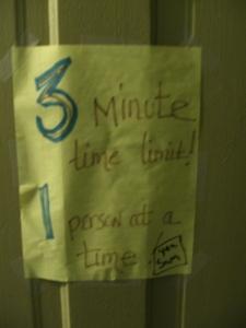 aber nur 3 Minuten
