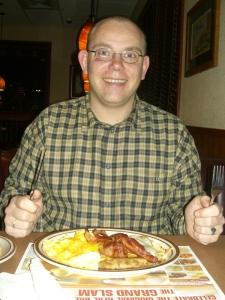 Erstes American Breakfast