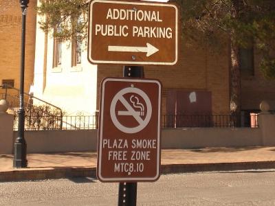 Rauchverbot-auch draußen