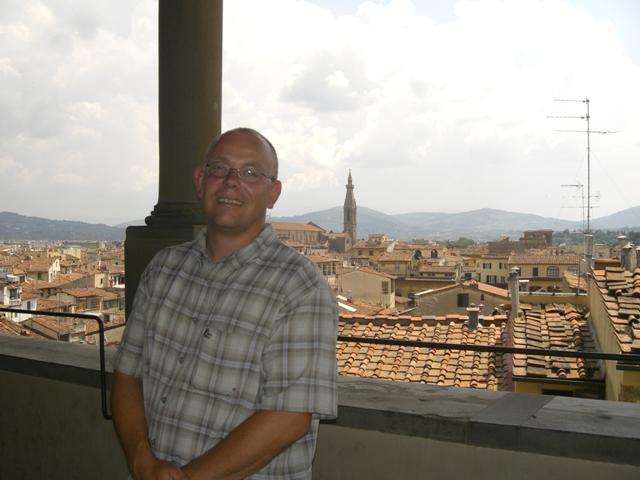 Olli über den Dächern Florenz\'