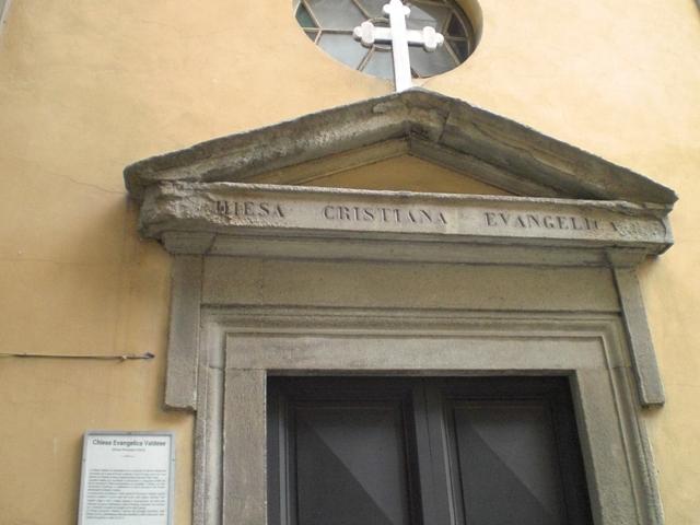 ...und eine Waldenserkirche gefunden!