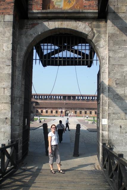 Im Castello Sforzesco
