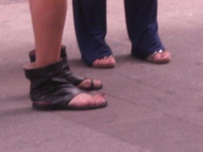 Stiefel-Flip-Flops