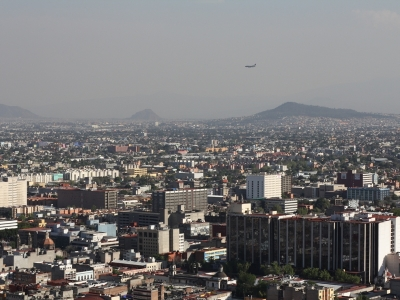 Mexico City vom Torre Latinoamericano aus