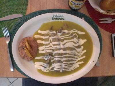 Enchiladas zum Mittagessen