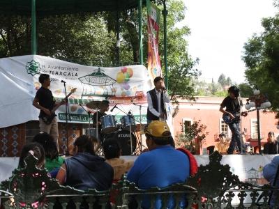 Band auf dem Zocalo