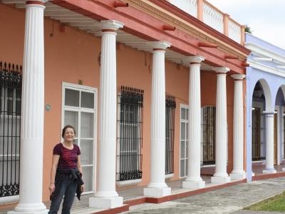 Arkaden in Tlacotalpan