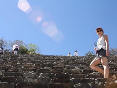 Pyramiden-Aufstieg