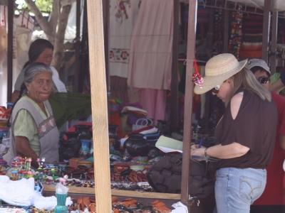 Markt in Mitla