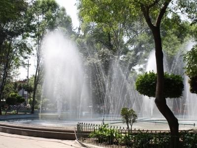 Blick auf den Plaza Luis Cabrera