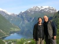 Ueberm Geirangerfjord