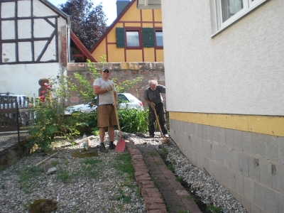 Arbeit im Schatten