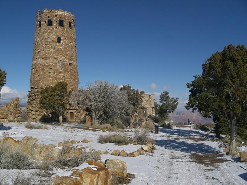 Watchtower am Desert View