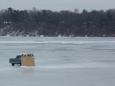 Ice-Fishing in Wisconsin