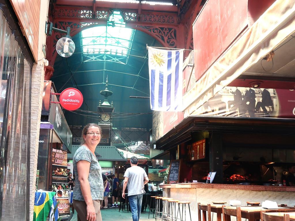 Im Mercado del Puerto...