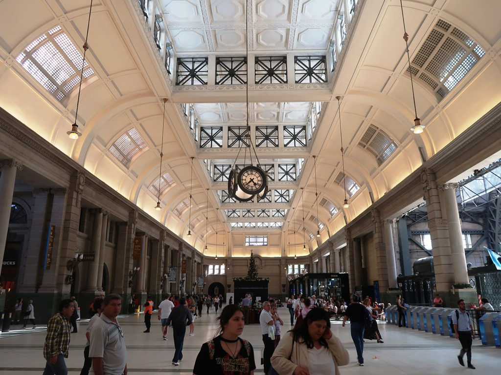 Start am Retiro-Bahnhof